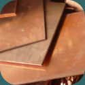 Alliages et applications: plaquettes de cuivre utilisées dans la conception du bronze aluminium